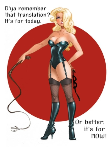 Pin up BDSM