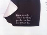 Vestido blanco y negro de toda la vida