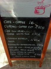 """¿""""Coffee cut""""? Claro que sí, campeón"""