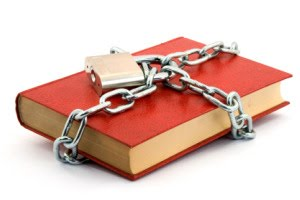 locked book