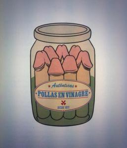 Ilustración de David Sánchez para la expresión en el libro «Con dos huevos».