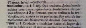 Definición de traductor