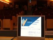 Esperando el inicio de las jornadas de orientación laboral de mi alma mater: la Universitat Pompeu Fabra