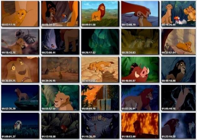 Momentos de El rey león