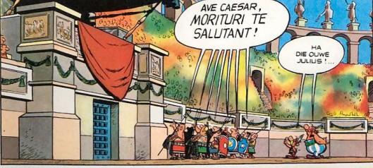 Ave César en Astérix