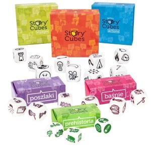 La colección completa de los Story Cubes