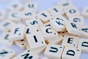 Letras, letras y más letras. Fotografía de Taro Taylor.
