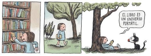 No os perdáis las tiras de Liniers sobre la maravillosa Enriqueta.