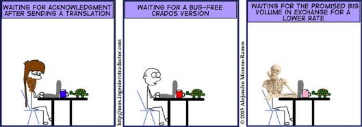 the importance of patience for freelance translators